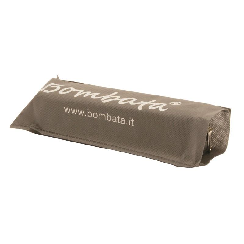 Bombata – Orange Classic Pen Case/Vanity Pouch with Zip Closure