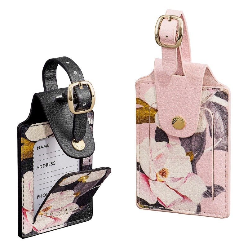 Ted Baker – Set of 2 Opal Luggage Tags in 'Truly Gifted' Presentation Gift Box