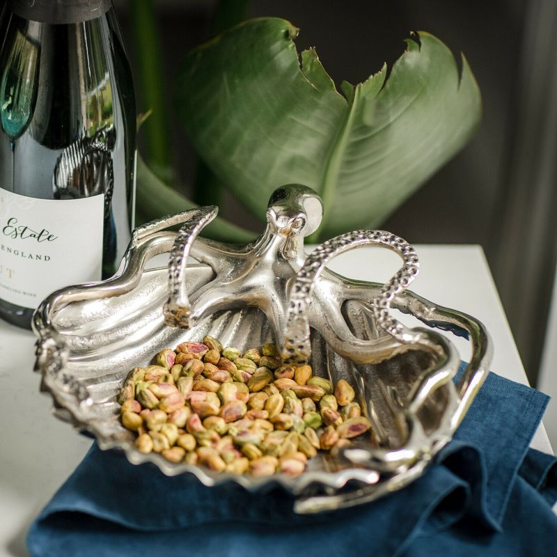 Culinary Concepts – Octopus and Shell Serving Dish in Gift Box