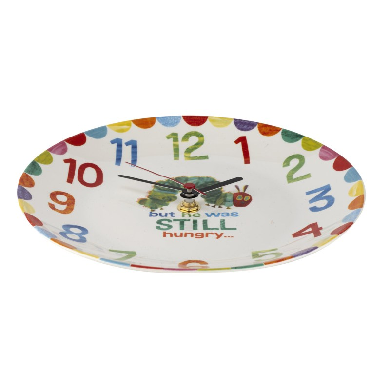 Portmeirion – The Very Hungry Caterpillar Clock in Presentation Gift Box