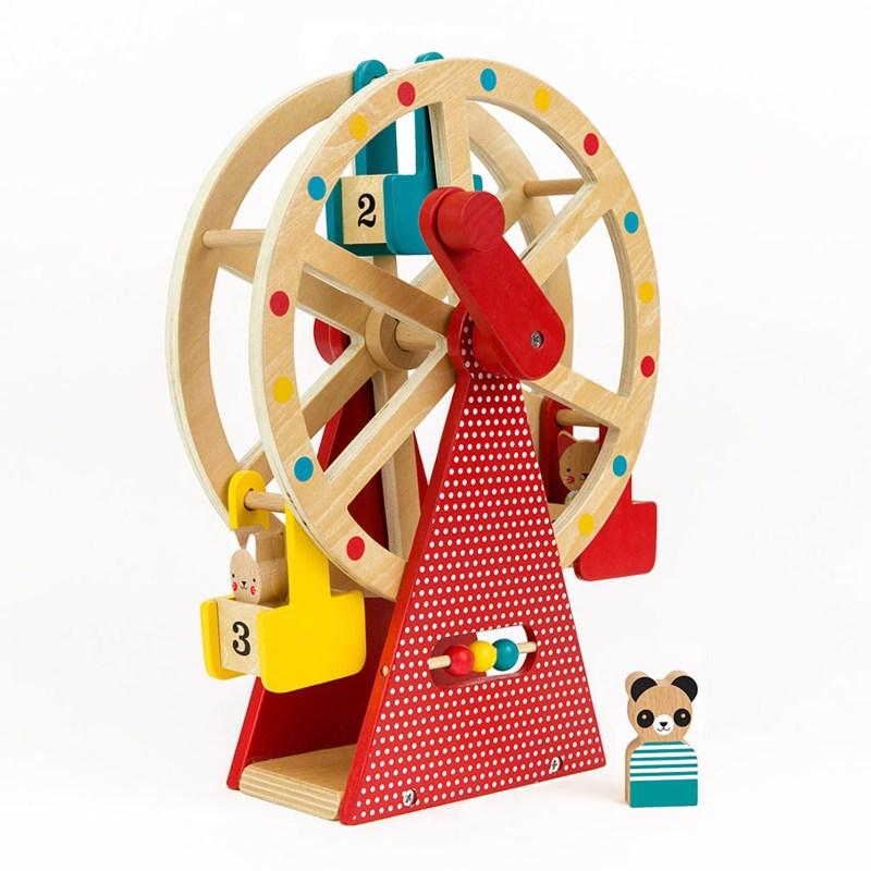 Petit Collage – Wooden Ferris Wheel Carnival Play Set
