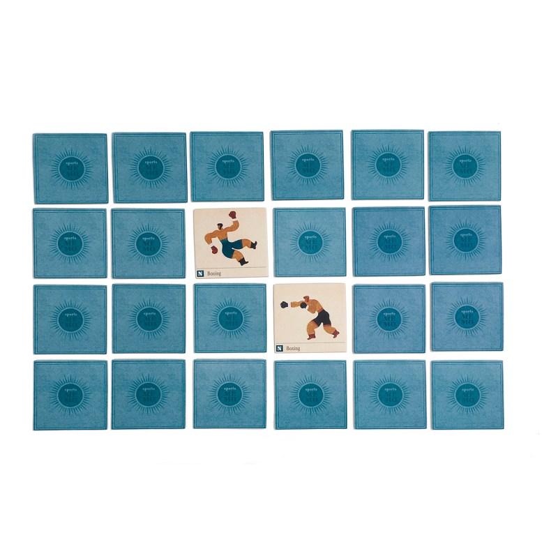 Londji – Sports Memo Matching Pairs Memory Game in Box