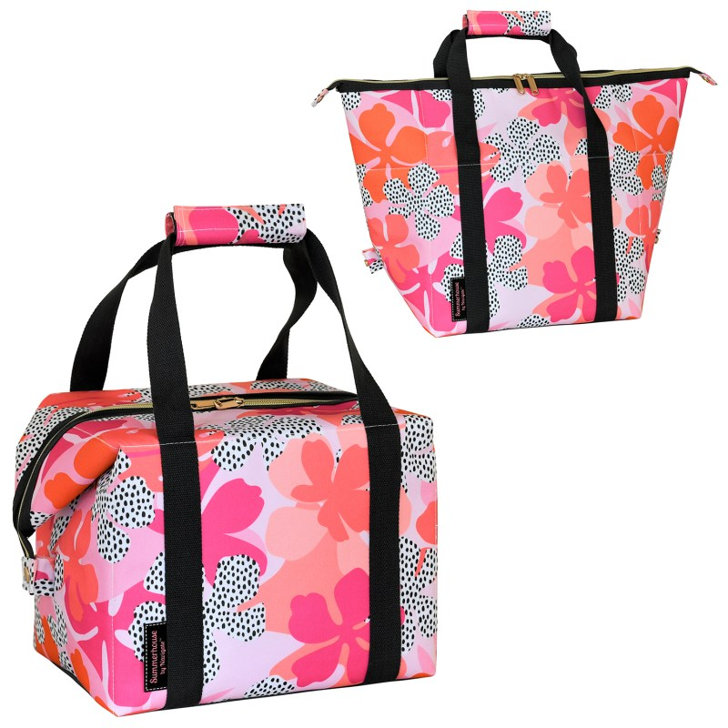 Navigate – Summerhouse 'Tribal Fusion' Floral 20L Convertible Insulated Cool Bag