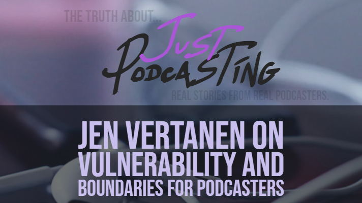 Jen Vertanen joins us to discuss her podcast experience dealing with tough topics. Jen explains the struggle to finding the right guest to come on the show, getting over 1-star reviews, the time it takes to put out a quality podcast, balancing podcast and family life, and getting your process to help beat the overwhelm.