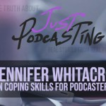 Jennifer Whitacre, of the Yes And podcast, shares her most powerful lessons learned, her go to coping strategy for dealing with impostor syndrome and how she makes podcasting work for her.