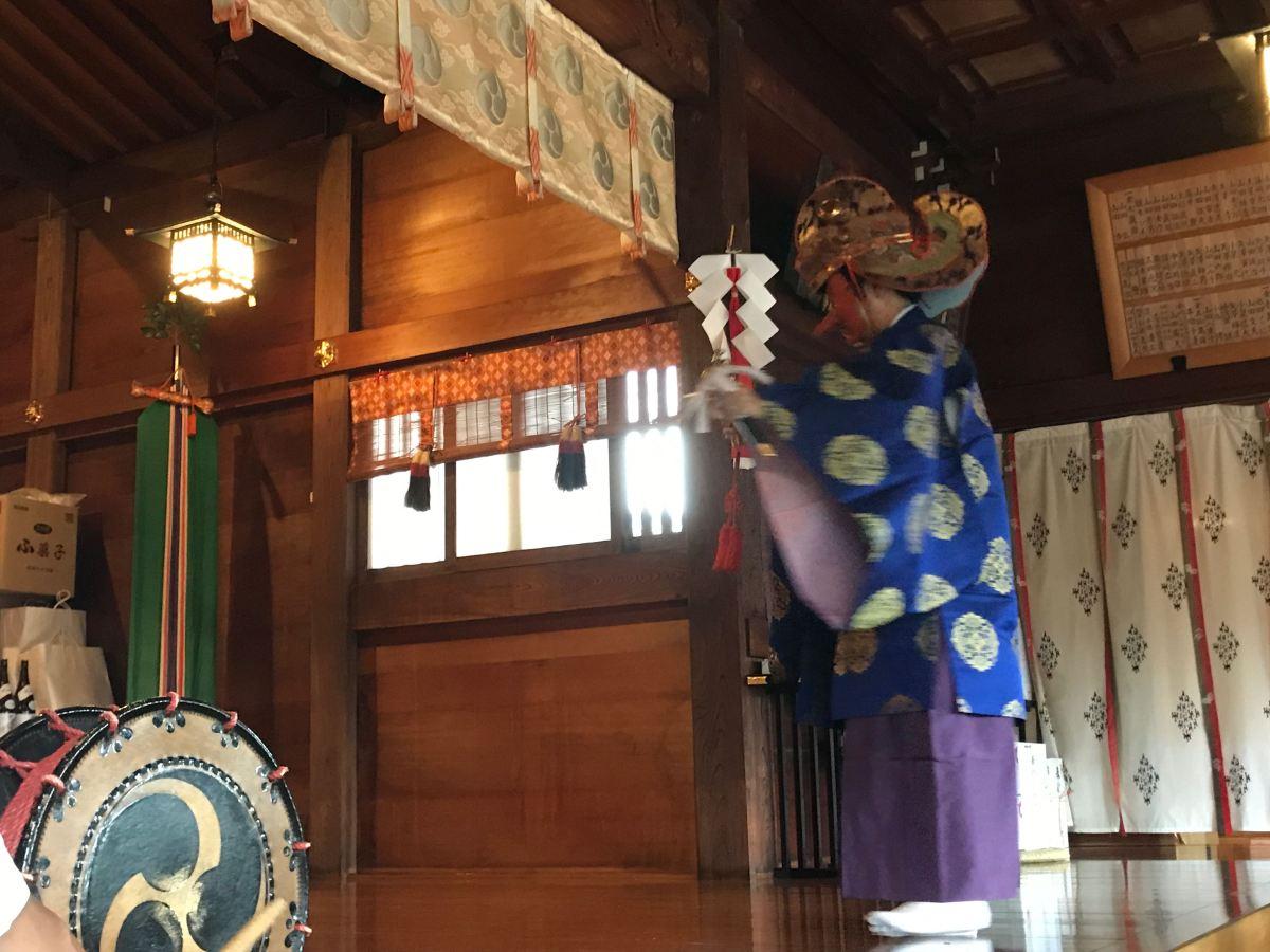 【川崎市伝統文化】白幡八幡大神例大祭・禰宜舞!!