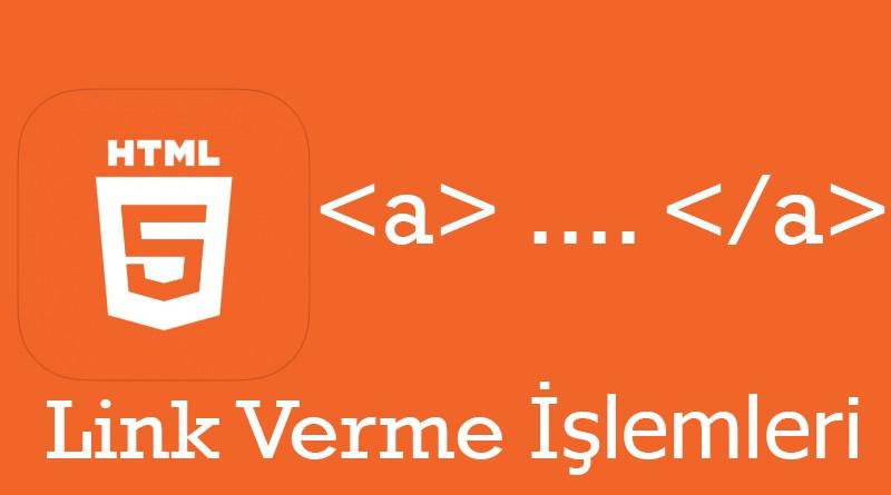 Düzenle HTML Link Verme İşlemleri