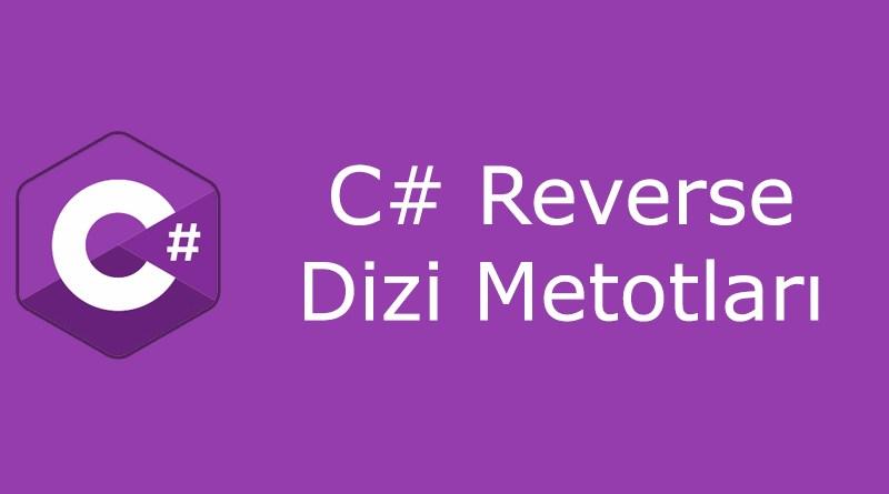 C# reverse