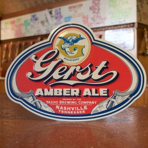 """Gerst"" embossed tin tacker"