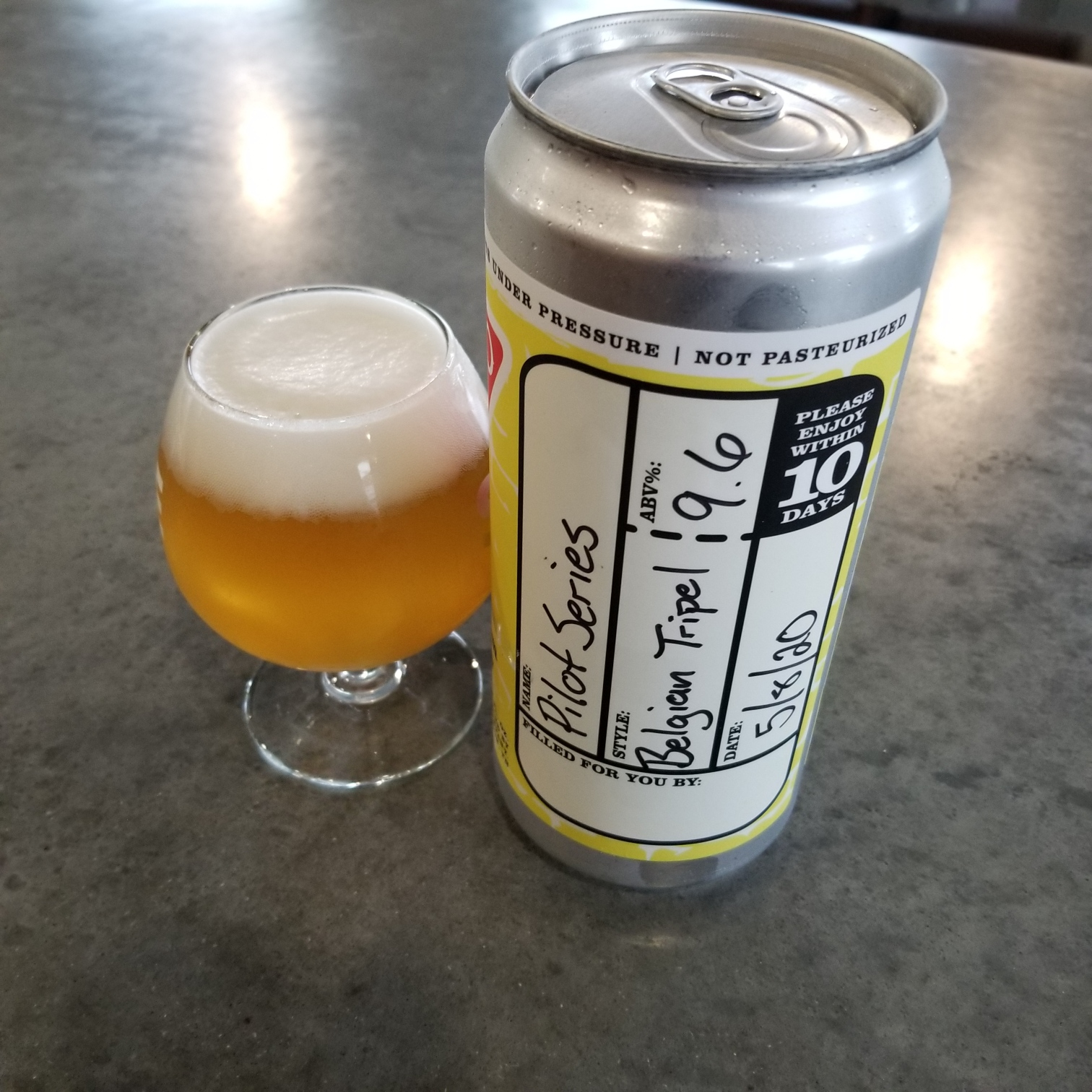 PILOT SERIES CROWLERS (To-go/Delivery)