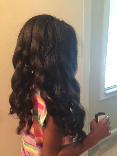 down hair