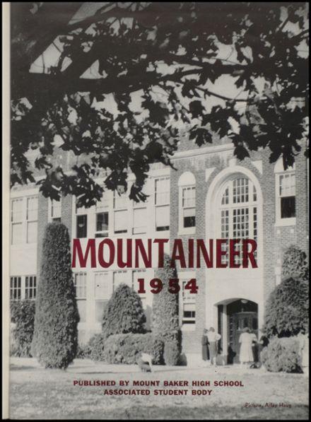 Explore 1954 Mt. Baker High School Yearbook, Deming WA ...