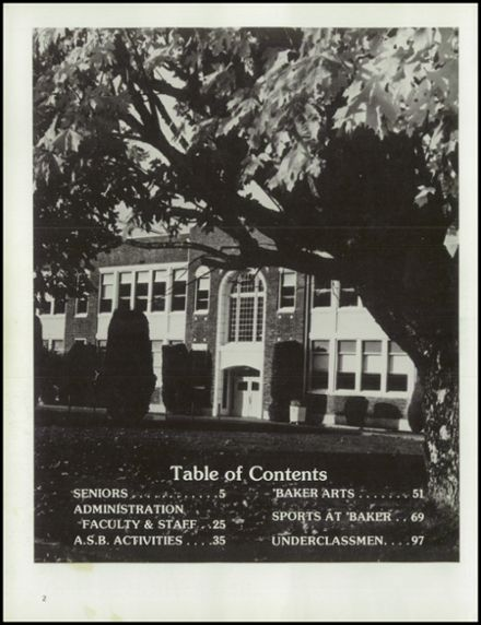 Explore 1977 Mt. Baker High School Yearbook, Deming WA ...