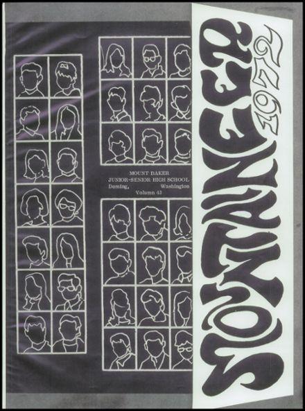 Explore 1972 Mt. Baker High School Yearbook, Deming WA ...