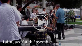 Click for video of Latin Jazz Youth Ensemble