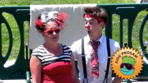 Photo of Leah and Andrew of Pi Clowns