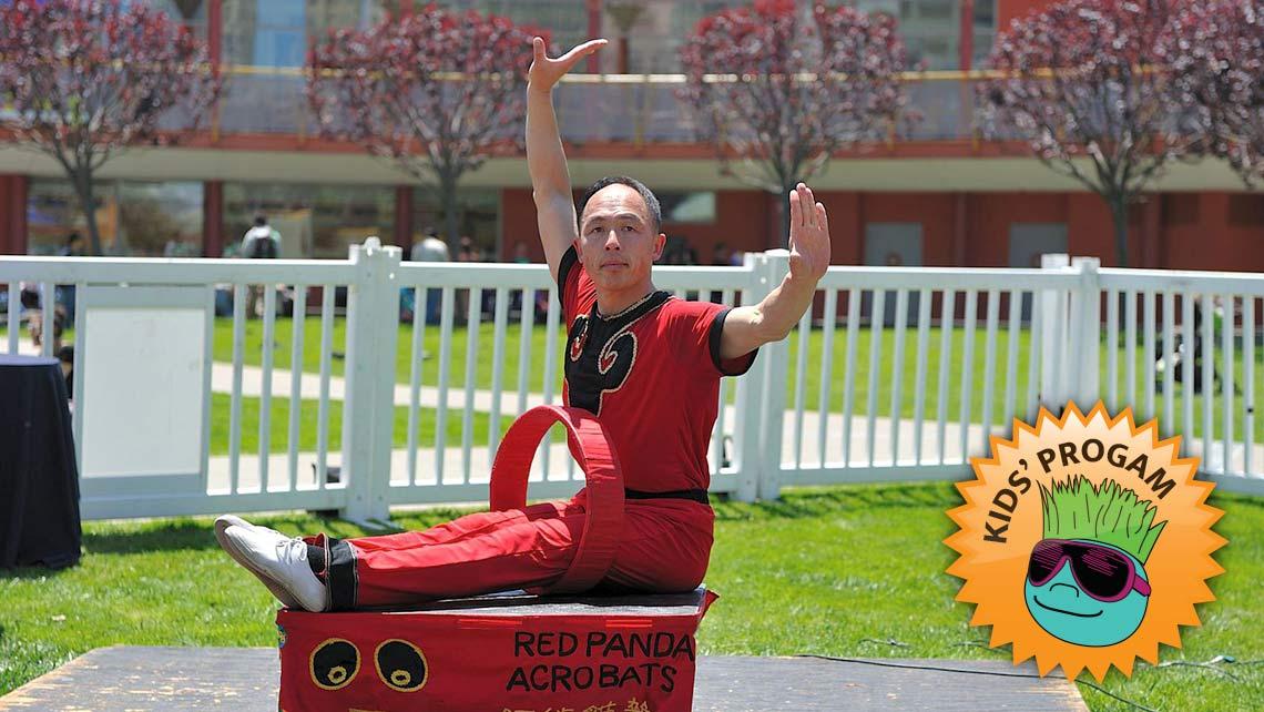 Photo of Wayne Huey of Red Panda Acrobats