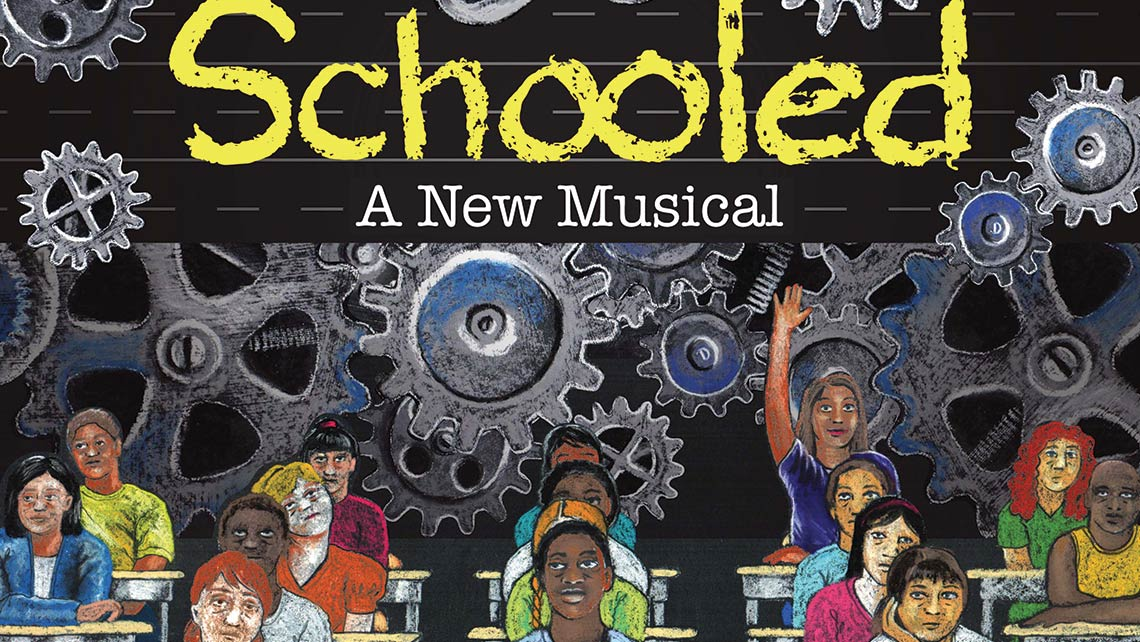 Poster for Schooled: A New Musical
