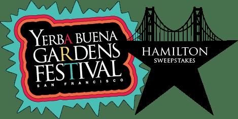 Yerba Buena Gardens Festival. Hamilton Sweepstakes
