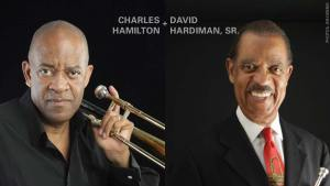 Photos of AfroSolo in the Gardens 2017 artists Charles Hamilton and David Hardiman, Sr.
