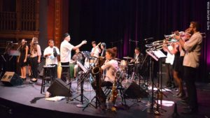 Photo of Latin Jazz Youth Ensemble of San Francisco, photo by Arturo Riera