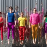 Photo of RAWdance dance company for Yerba Buena Gardens ChoreoFest 2018 by Hillary Goidell
