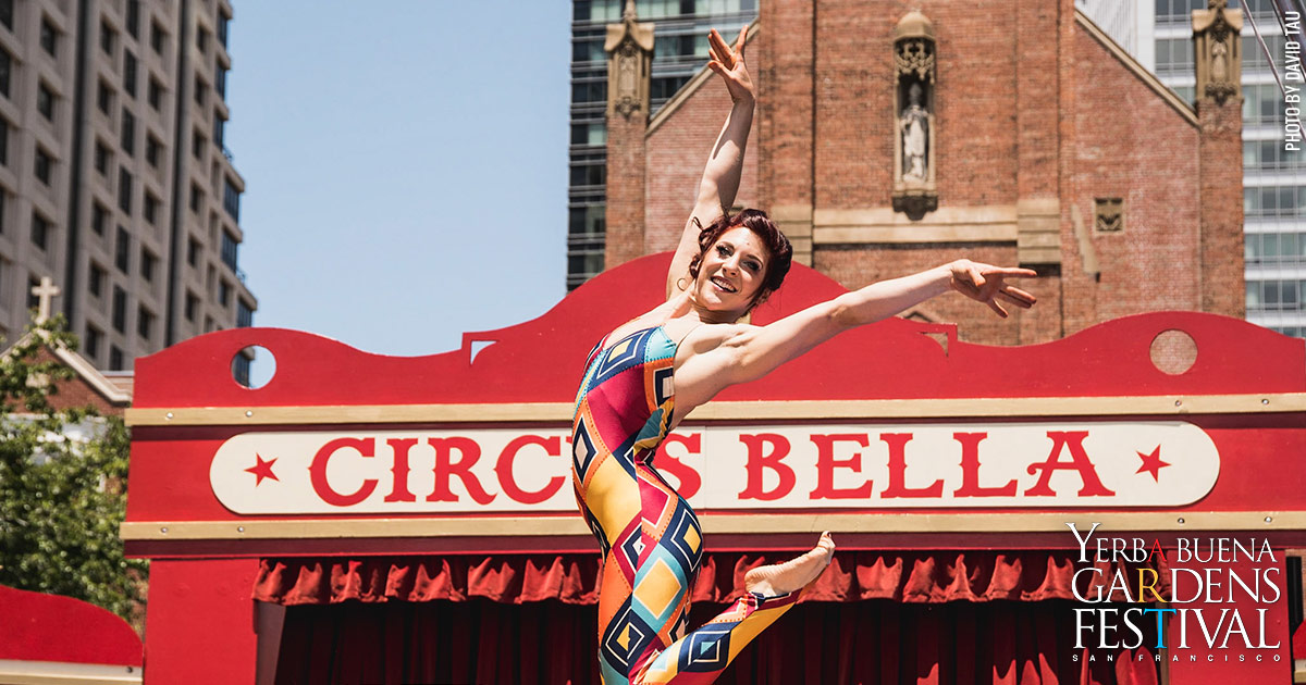 Photo of Dwoira Galilea of Circus Bella by David Tau