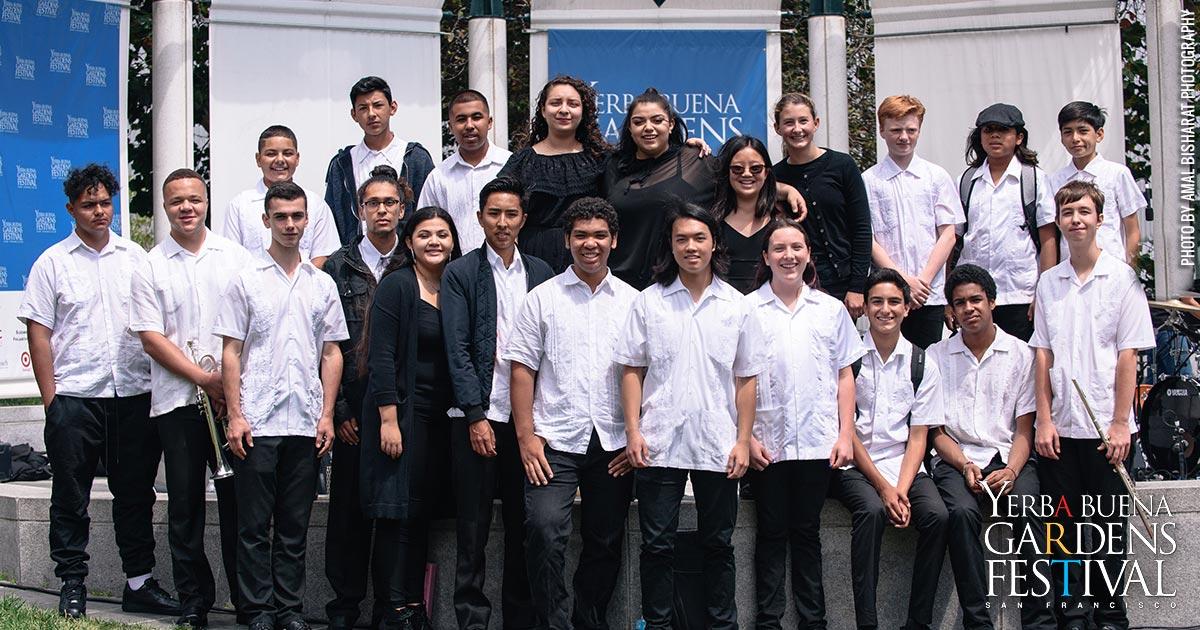 Photo of Latin Jazz Youth Ensemble of San Francisco by Amal Bisharat Photography