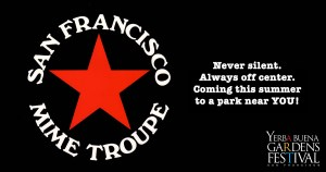 SF Mime Troupe Logo