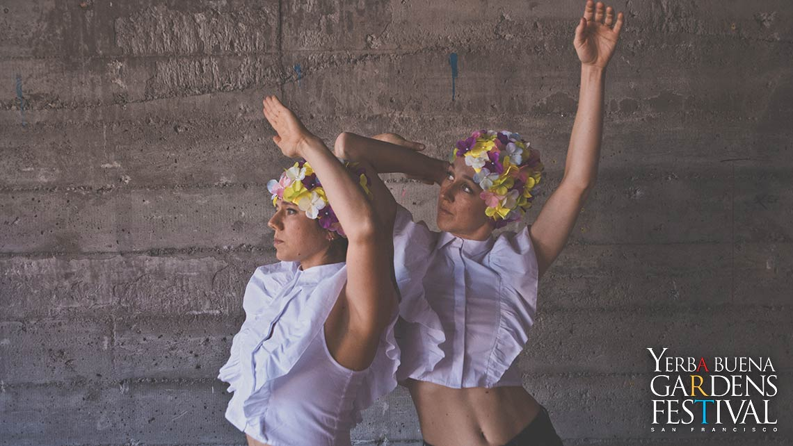 Photo of dancers Simpson Stulberg Collaborations