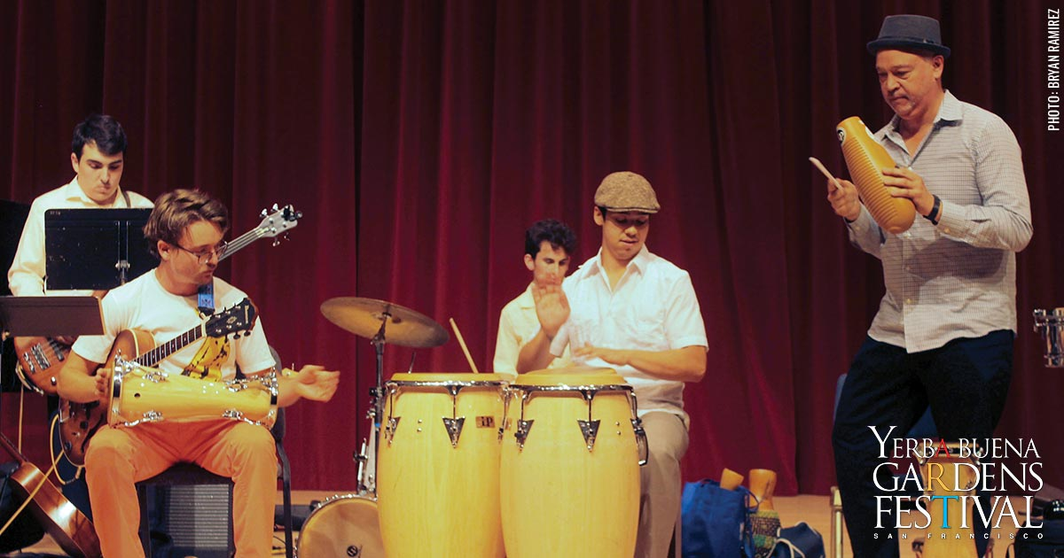 photo of SFSU afro cuban ensemble by Bryan Ramirez