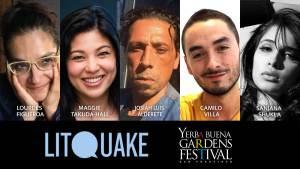 Photos of Lourdes Figueroa, Maggie Takuda-Hall, Josiah Luis Alderete, Camilo Villa, and Sanjana Shukla.