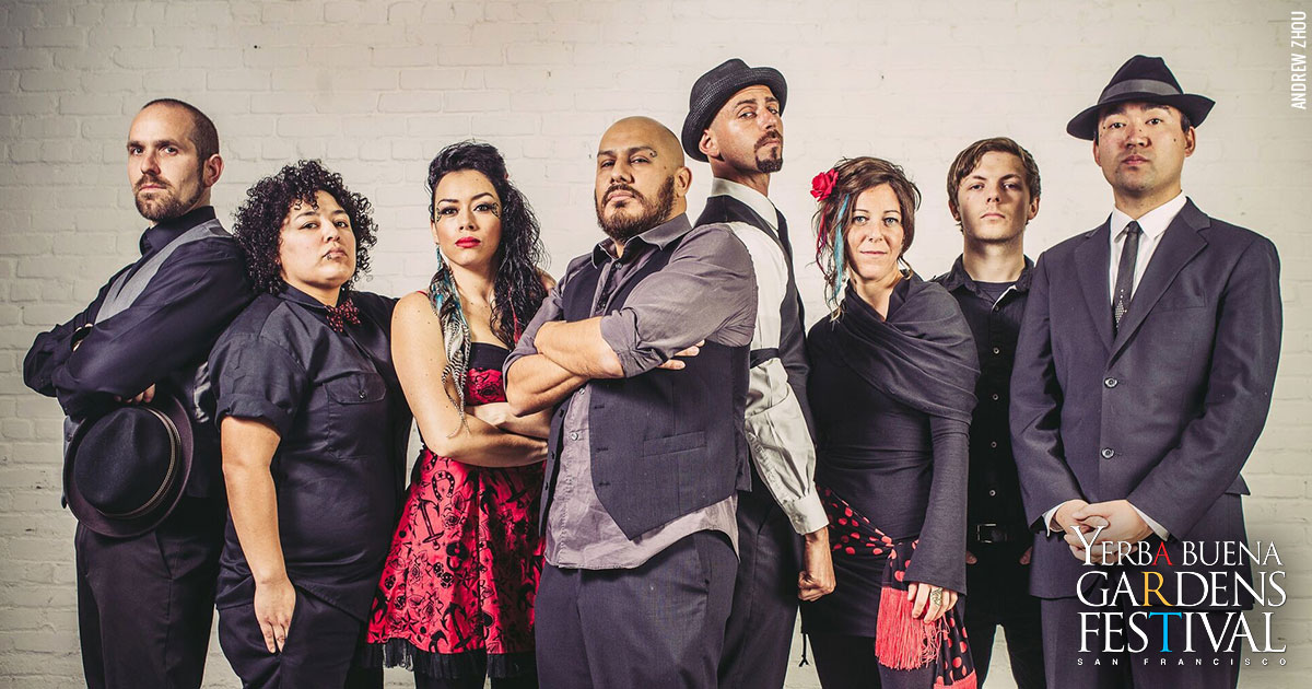 Photo of music group La Misa Negra, by Andrew Zhou