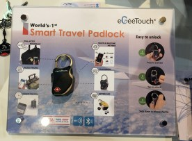 eGeeTouch® Smart Travel Padlock