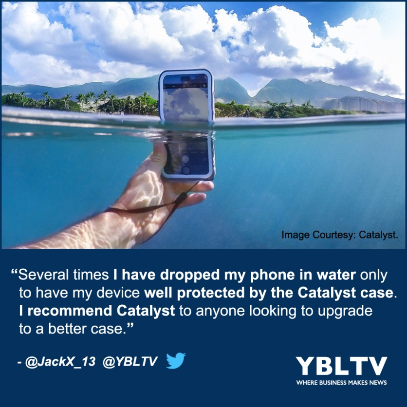 Waterproof Your Device With Catalyst Cases. YBLTV Review by Jack X.