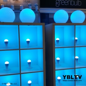 GreenBulb LED at the Nightclub & Bar Show 2017.