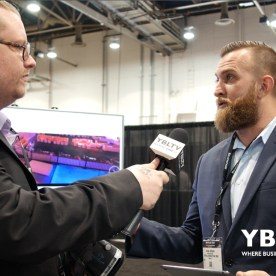 YBLTV Writer / Reviewer, Jack X with Virtual Marketing 360, President / CEO, Shane Brown at the 2017 Nightclub & Bar Show, Las Vegas, NV.