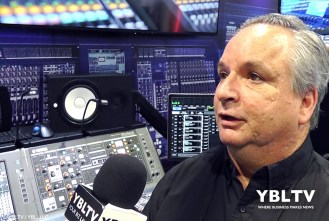 Yamaha, Product Manager, MI Pro Audio Professional Audio Division, John Schauer at NAB 2017.