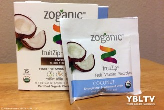 Zoganic fruitZip™ - Coconut. Review by YBLTV Writer / Reviewer, William Fraser.