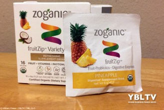 Zoganic fruitZip™ - Pineapple. Review by YBLTV Writer / Reviewer, William Fraser.