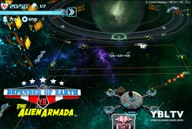 Monkey Wrench Studio: Defender of Earth Vs The Alien Aramada. YBLTV Review by Patrick Mackey.