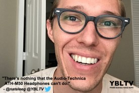 Audio-Technica ATH-M50 Headphones. YBLTV Review by Nathan Gwatney.