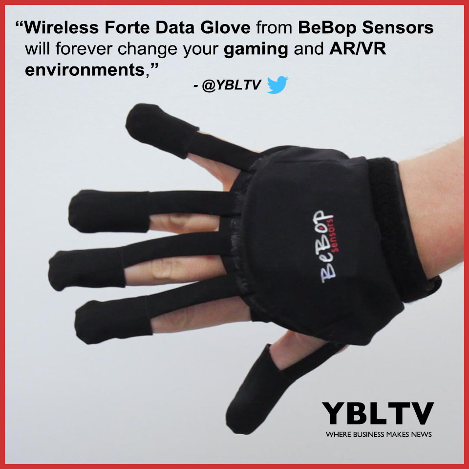 Bebop Sensors introduces Forte Data Glove at CES 2018.