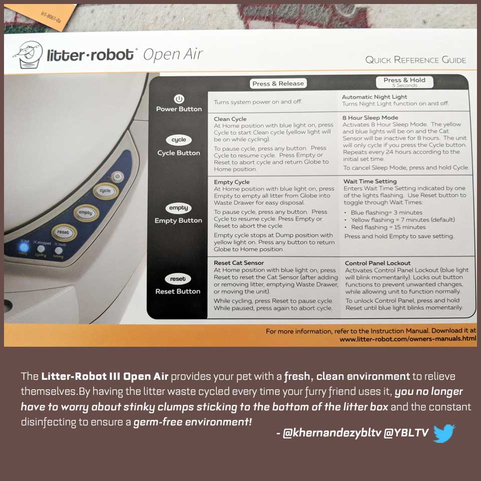 Litter-Robot III Open Air. YBLTV Review by Katie Hernandez.