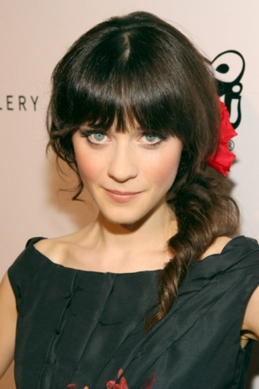1000+ Images About Bangs! On Pinterest | Bangs, Zooey Deschanel with regard to Zooey Deschanel Short Hair - Right HS