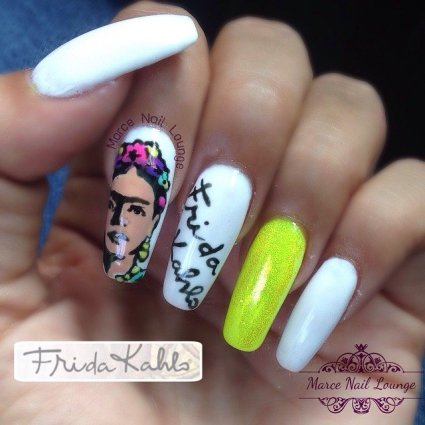 Frida-Kahlo-Nail-Art-Ideas