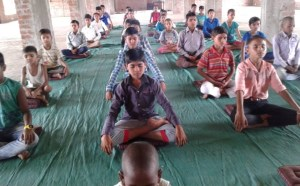 Meditation Class for School Students