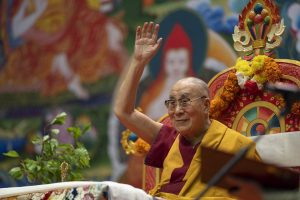 His Holiness the Dalai Lama's teaching at Sankisa