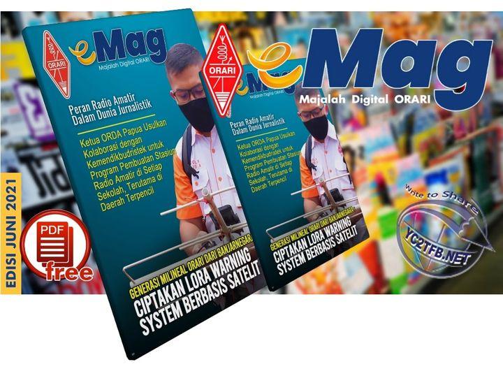 ORARI Digital Magazine, Majalah Digital eMAG