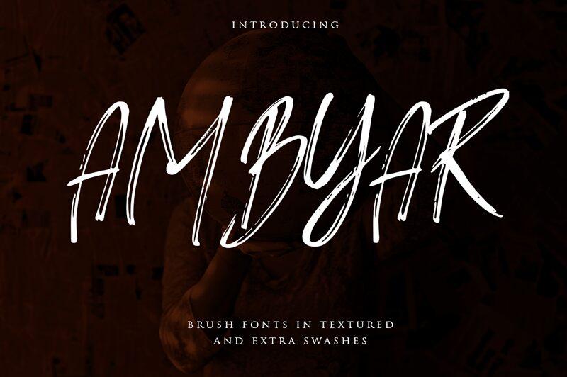 Ambyar Font